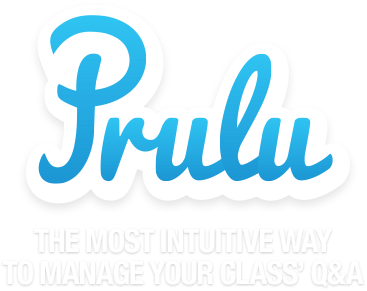 Prulu - The most intuitive way to manage your class' Q&A